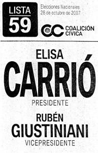 boleta carrio 2007
