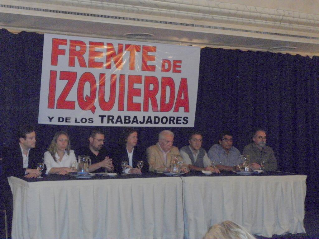 El Frente de Izquierda anunció su fórmula presidencial
