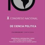Inicia el X Congreso Nacional de Ciencia Política