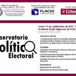 Evento: Observatorio Político-Electoral