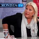 Carrió recorre el país para apoyar a los candidatos de la Coalición Cívica