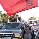 Alfonsín cerró la campaña presidencial de la UDESO