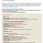 """Evento 22 de marzo: """"La innovación electoral en 2011: la reforma política en la Nación y en las provincias""""."""