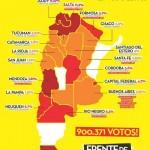 RESULTADOS DEL FRENTE DE IZQUIERDA EN EL PAÍS