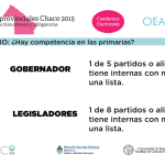 ELECCIONES CHACO: Conocé el Padrón, los Candidatos y los Resultados