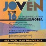 Voto Joven en la Argentina