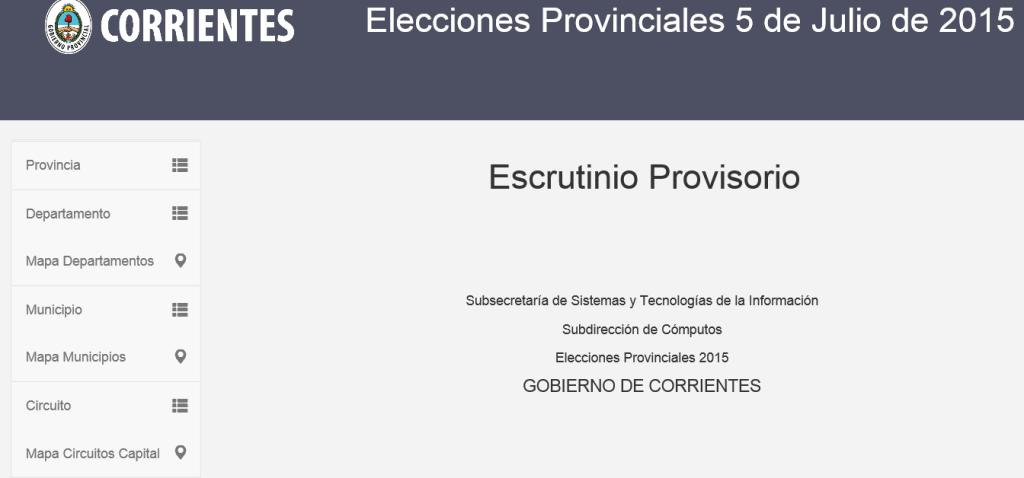 Resultados Corrientes