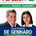 Conociendo a los Pre-Candidatos a Presidente: Víctor De Gennaro