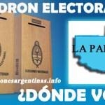 #LaPampa #5J - ¿Qué se vota? Padrón, Candidatos; Seguí los resultados
