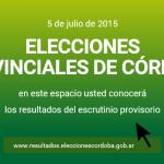 Elecciones Córdoba #5J: ¿Dónde voto? ¿Cómo voto? Candidatos. Seguí los Resultados