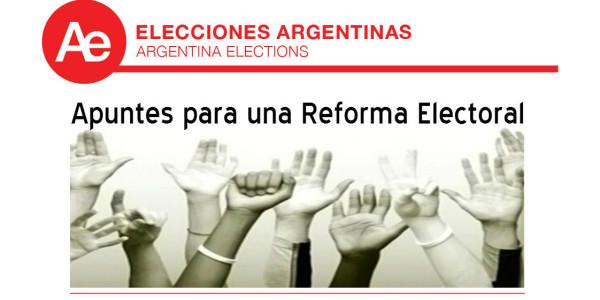 Apuntes para una Reforma Electoral