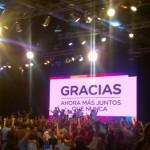 Macri al balotaje, Vidal al poder