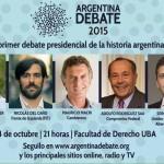 Primer Debate Presidencial de la Historia