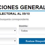 Guía Electoral 25-O: Padrón, candidatos, preguntas frecuentes.