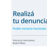 Elecciones Transparentes: medidas de control y medios de denuncia