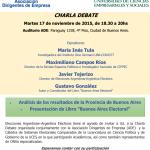 17N-Charla Abierta: