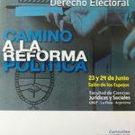 EA fue parte del III Congreso Argentino de Derecho Electoral