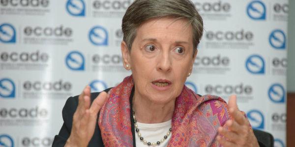 """Delia Ferreira Rubio: """"El voto electrónico puede ser manipulado con facilidad"""""""