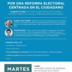 Encuentro con Expertos Internaciones sobre E-Voting y Financiamiento de la Política