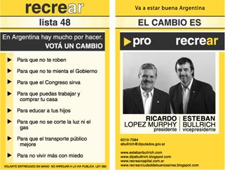 Candidatos a Presidente 2007: Ricardo Lopez Murphy
