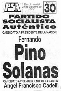 Boleta Pino 2007