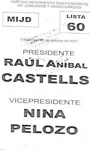 boleta castells