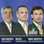 Chubut: las complementarias ratificaron a Buzzi