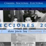La Cámara Electoral corroboró deficiencias en la distribución de publicidad