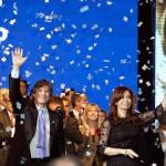 Cristina cerró su campaña en el Coliseo