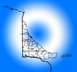 Tierra del Fuego Mapa