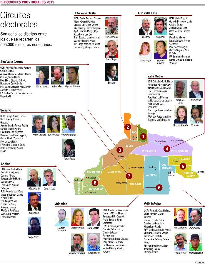 Distritos Electorales 2015