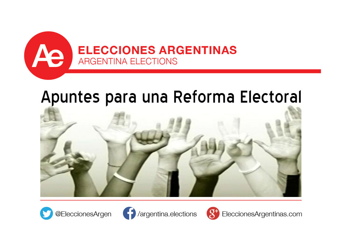 Apuntes para reforma electoral