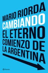 Portada del nuevo libro publicado por Riorda. Foto: gentileza del entrevistado.